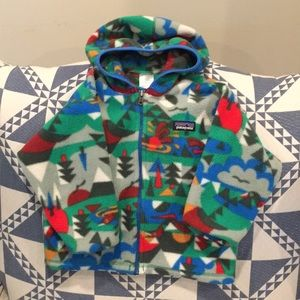 Patagonia fleece multi-color